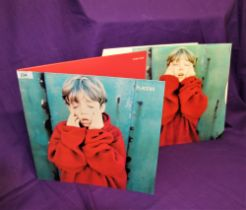 A sought after and long of print gatefold album from 1996 by indie / alt band Placebo - vinyl copies