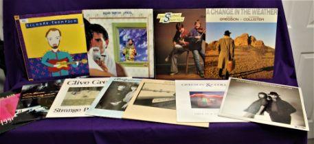 A lot of eleven of Folk / Folk Rock / singer songwriter albums in VG+ - some better - some nice