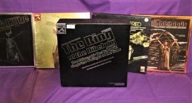 A lavish box set ' The Ring ' Richard Wagner / Reginald Goodall - a lovely package in all over VG+