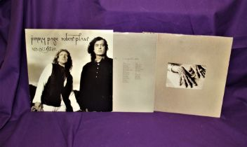 A long out of print and now rare copy of Page and Plant's ' No Quarter ' in Ex