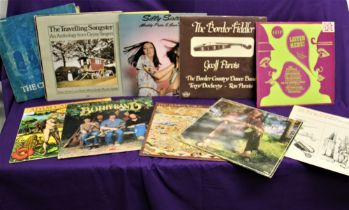 A ten album lot of Folk / Traditional albums with some interesting titles on offer here