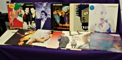 A mixed of approximately twenty albums with some twelve inch singles