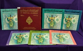 A boxed set of traditional Algerian Music - World music interest - the box has some wear , the vinyl