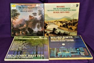 A lot of four classical box sets in VG + or better condition