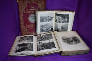 A selection of nautical sailing and marine related books including W.H Bartlett ports and harbours