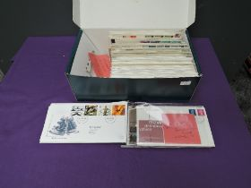 A collection of over 200 Royal Mail FDC, 1960's to 2000 including Definitives