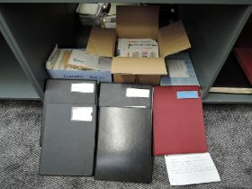 A large collection of World TPO (Train Post Office) Covers in boxes including Egypt, Canada, USA,