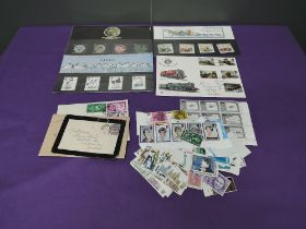 A collection of unmounted mint GB Stamps and Covers, Queen Elizabeth onwards