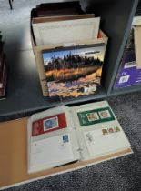 A collection of Canadian Stamps and Covers, early and mainly modern, mint and used, in albums and