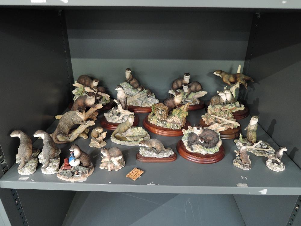 Twenty Border Fine arts Studies, various Otters including, Together Again SOC3, Spring Romance