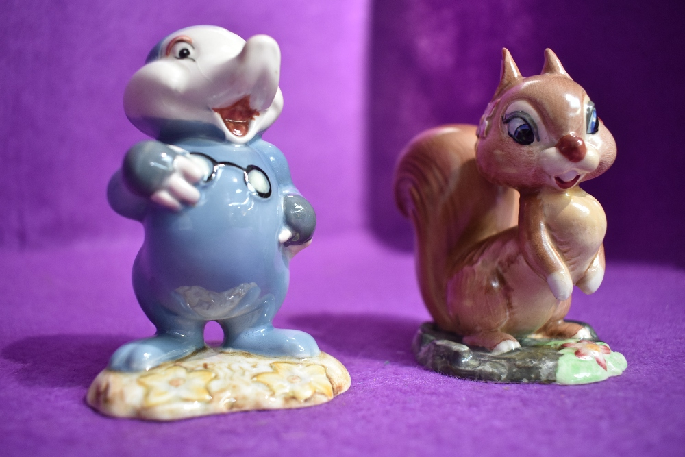 Two Beswick figure studies by David Hands from the Animaland series Dusty Mole and Hazel Nut (AF)