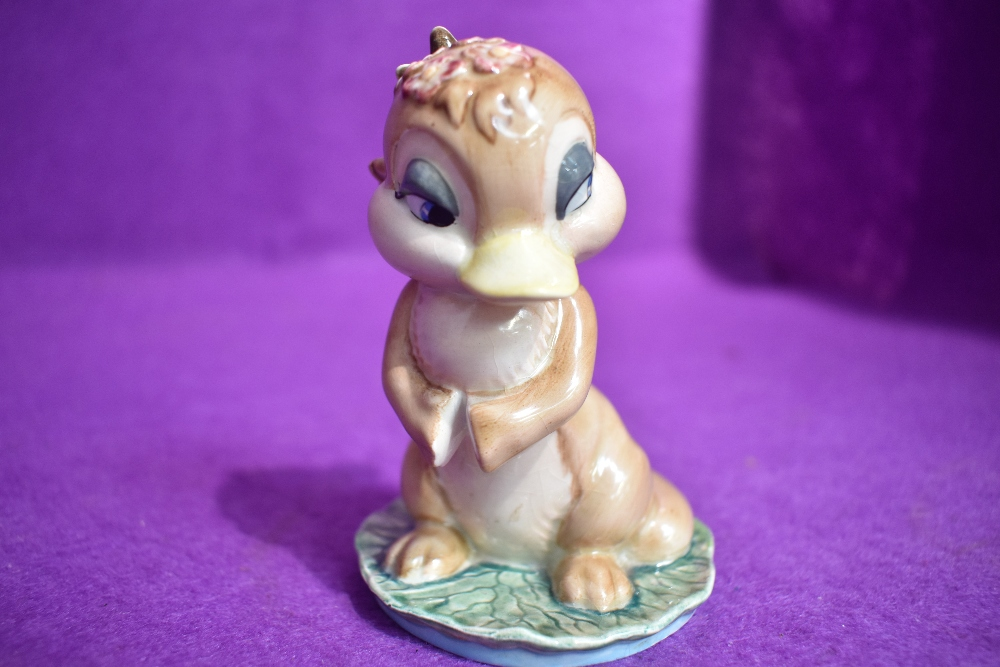 A Beswick figure study by David Hands from the Animaland series Dinkum Platypus having gold back