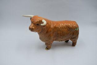 A Beswick study, Highland Bull 2008