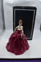 A limited edition Coalport Compton & Woodhouse Figurine, Grand Finale CW673 with original box 2318/