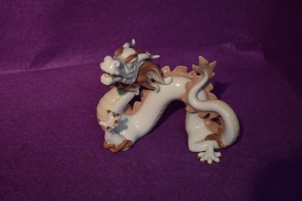 A Lladro study, The Dragon, from the Zodiac Collection designed by John Coderch