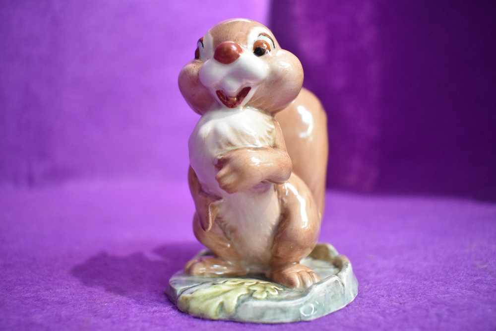 A Beswick figure study by David Hands from the Animaland series Ginger Nut having gold back stamp