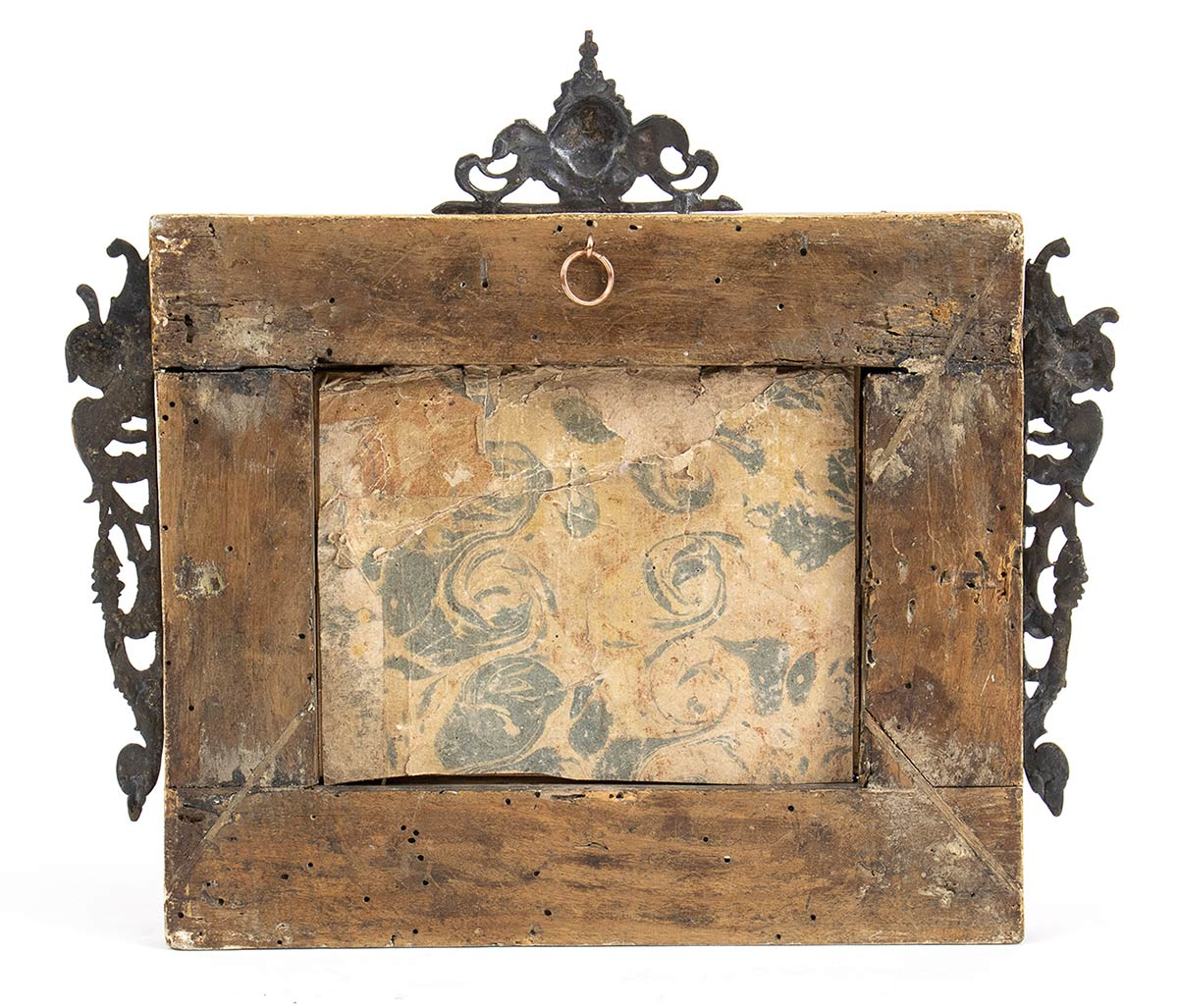 An Italian Mediterranean coral carvings with wooden frame - probably Naples, 18th Century - Image 3 of 3