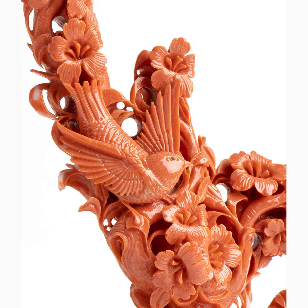 A Cerasuolo coral carving - China, early 20th Century - Image 4 of 5