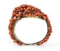 Sciacca coral bracelet - Italy, Trapani, 19th Century