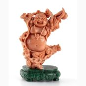 A Cerasuolo coral carving - China, early 20th Century