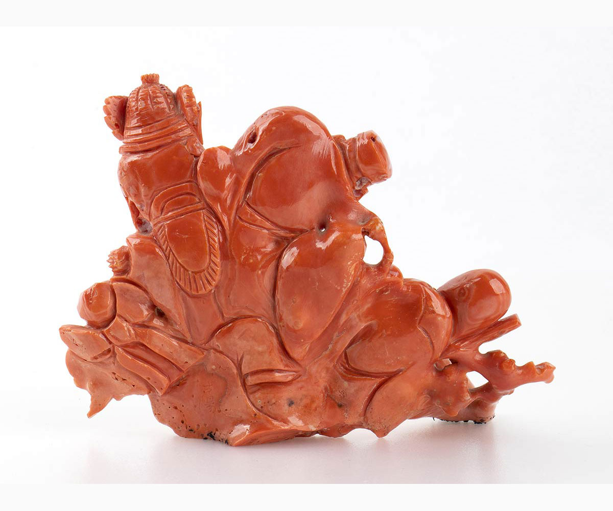A Cerasuolo coral carving - China, early 20th Century - Image 2 of 7