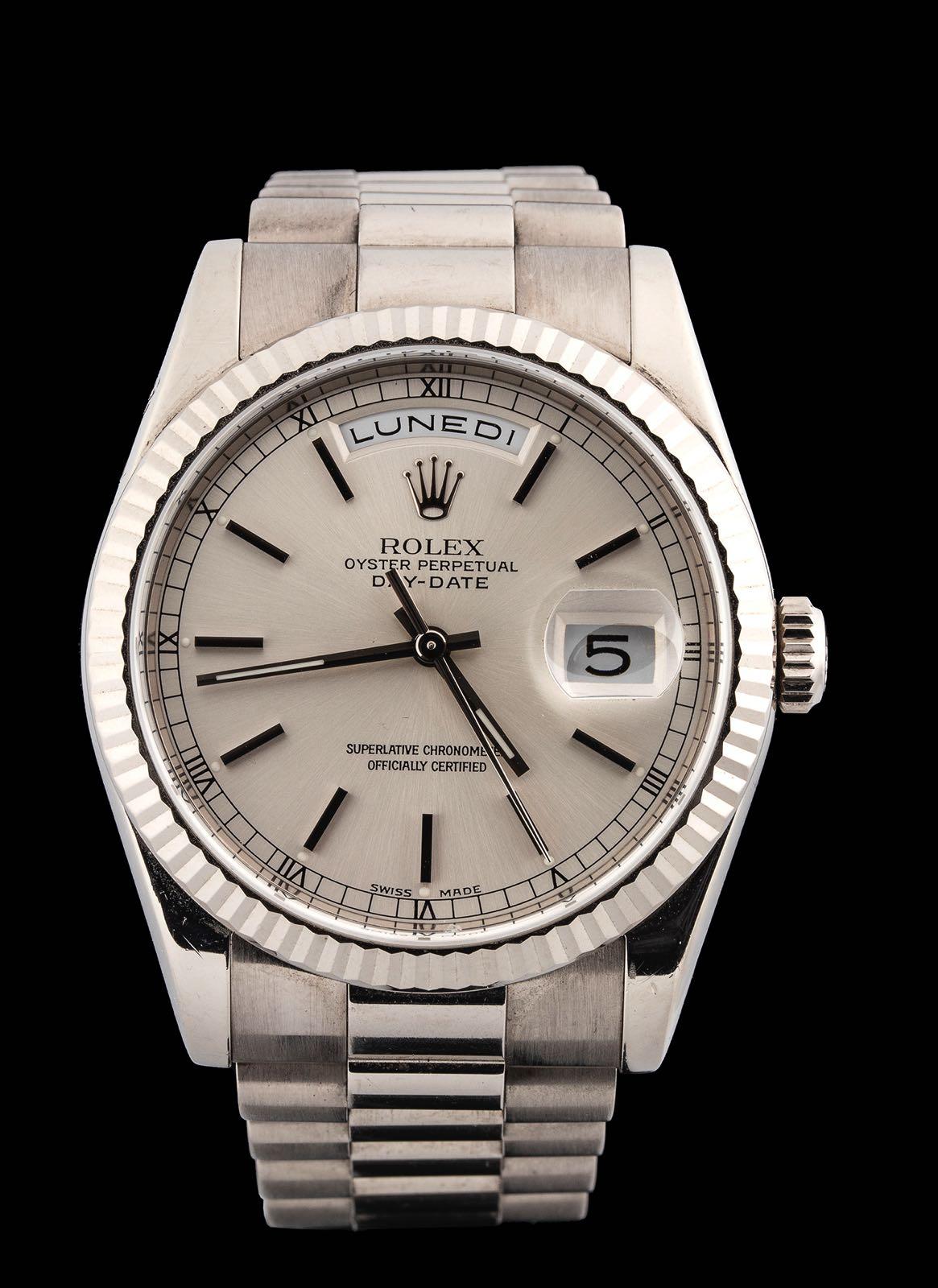 Rolex Day date ref 18039 white gold