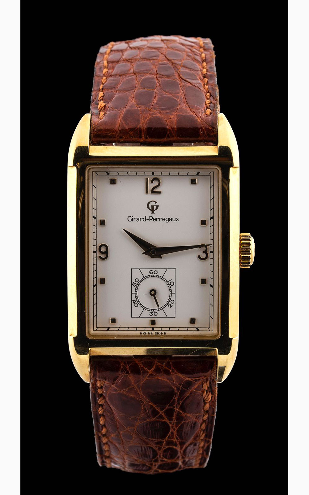Girard Perregaux, 18 kt gold, 1791/1991 anniversary, Limited Edition, Ref.4961, Like N.O.S., full se