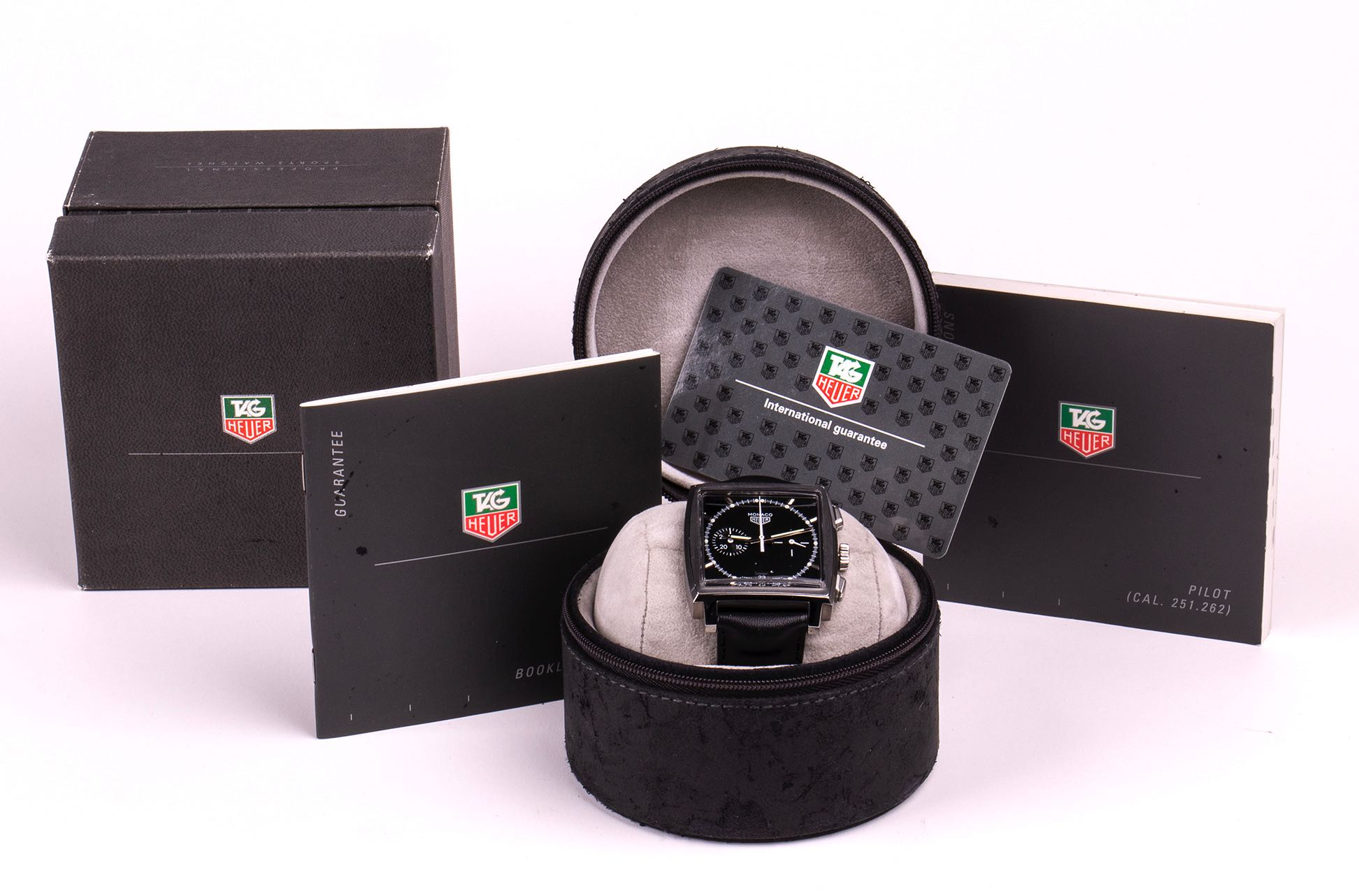 Heuer Monaco Chronograph Limited Edition 5000 pcs. by Tag Heuer ref: CS2110 - Image 3 of 3