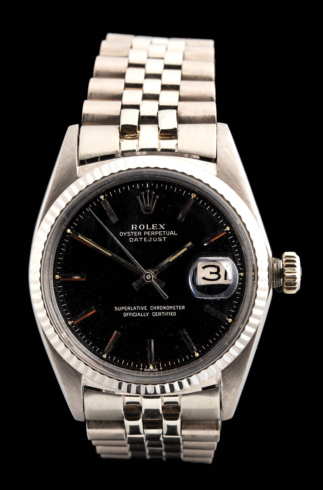Rolex Datejust White gold ref 1601, 1966