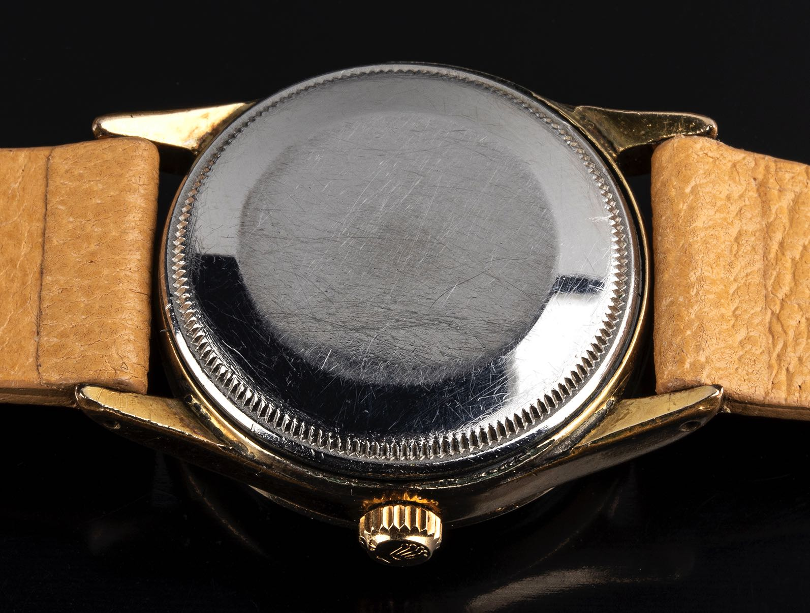 Rolex Explorer guilloche dial ref 5506 Gold filled '1950 - Image 3 of 4