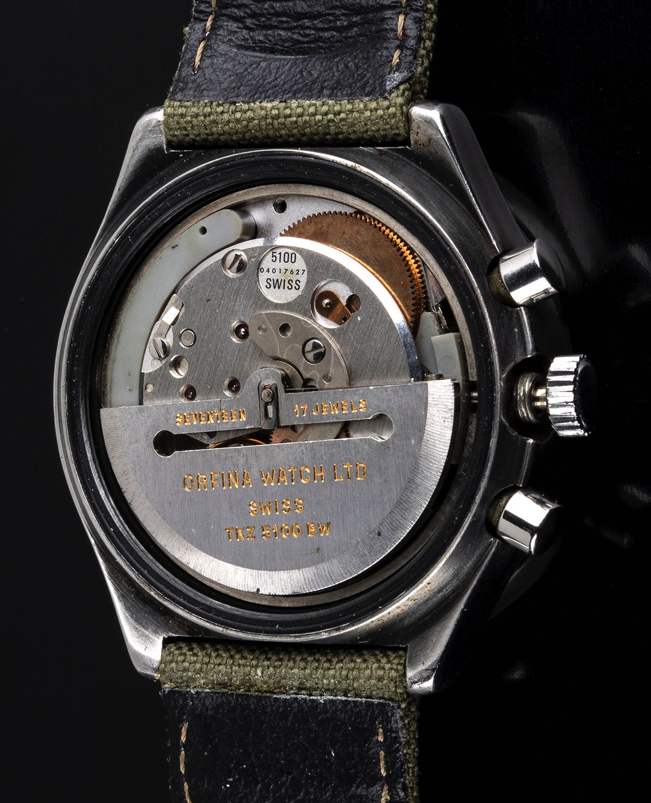 Porsche Design by Orfina Military assigned chronograph ref 7177 1980's - Image 2 of 4