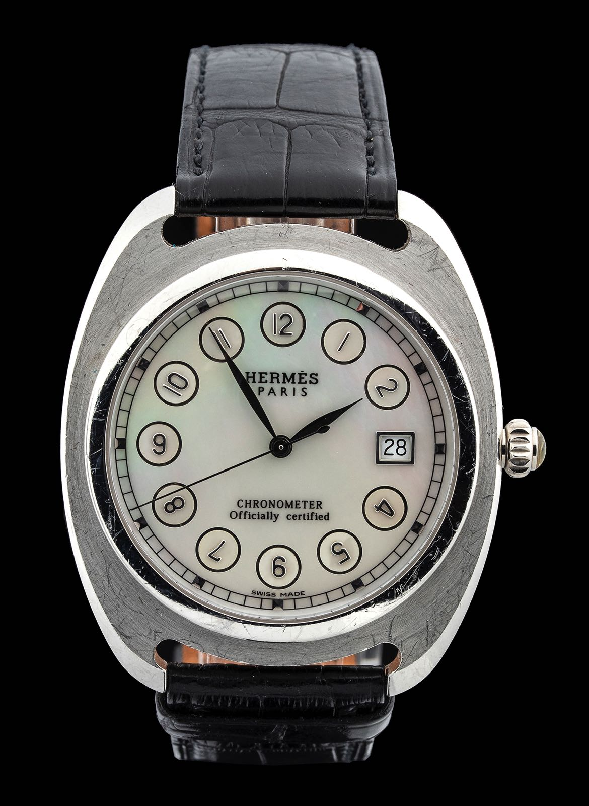 Hermes Dressage Platin, limited edition 75 pieces. 2003