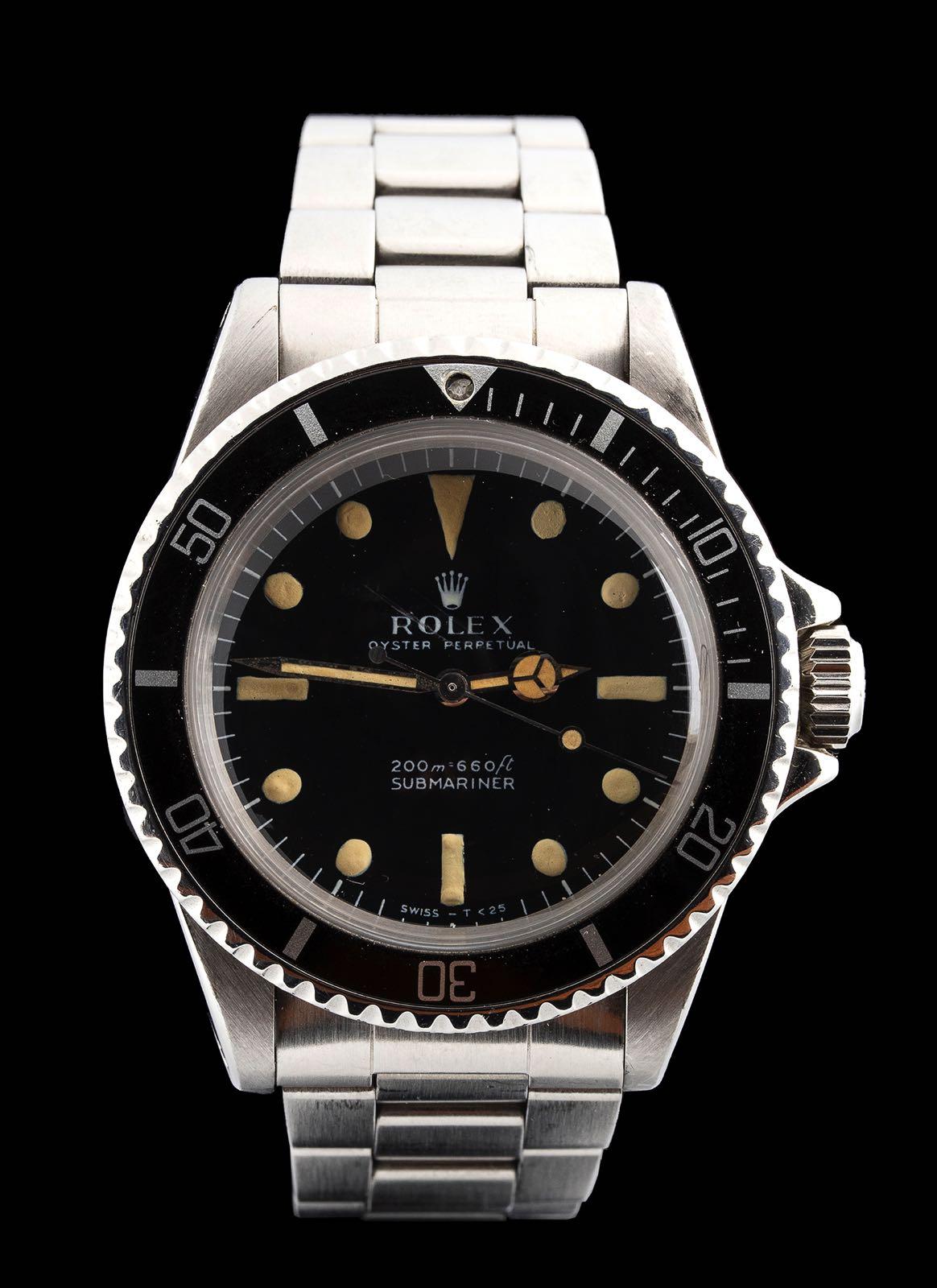 """Rolex Submariner ref 5513 """"meter first"""""""