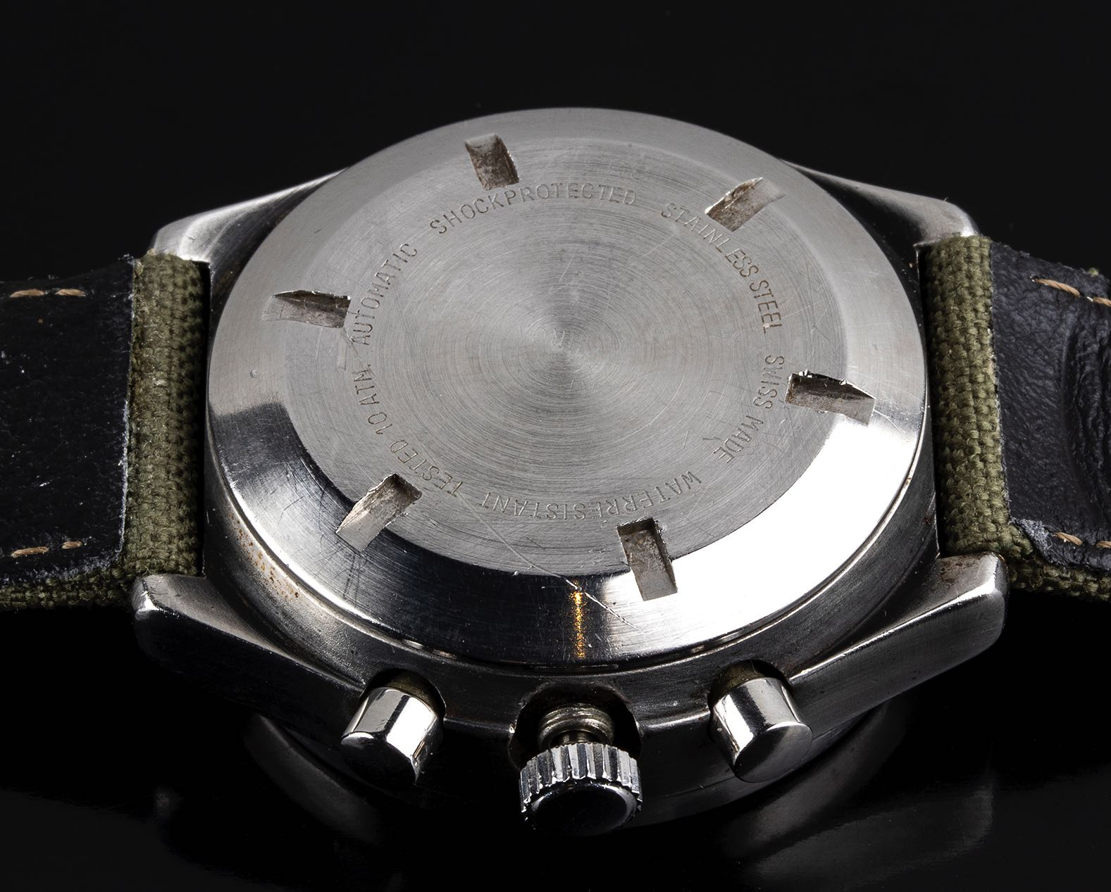 Porsche Design by Orfina Military assigned chronograph ref 7177 1980's - Image 3 of 4