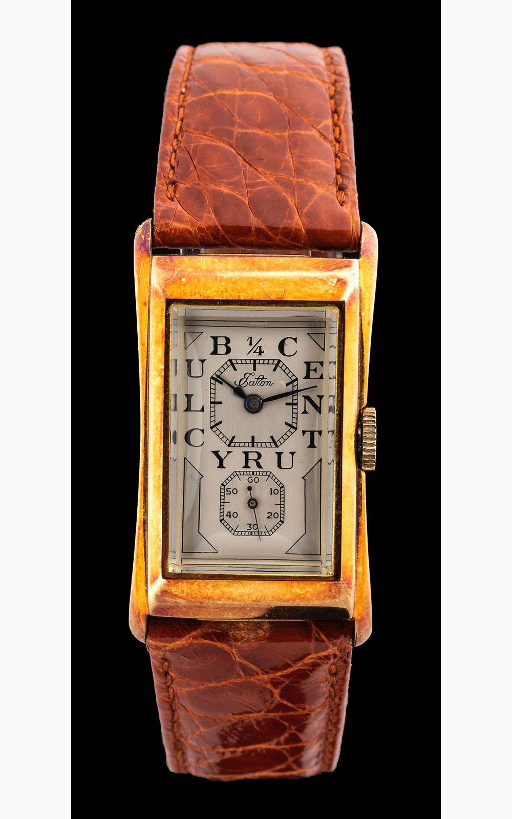 Rolex Prince ¼ Century club gold, 1947