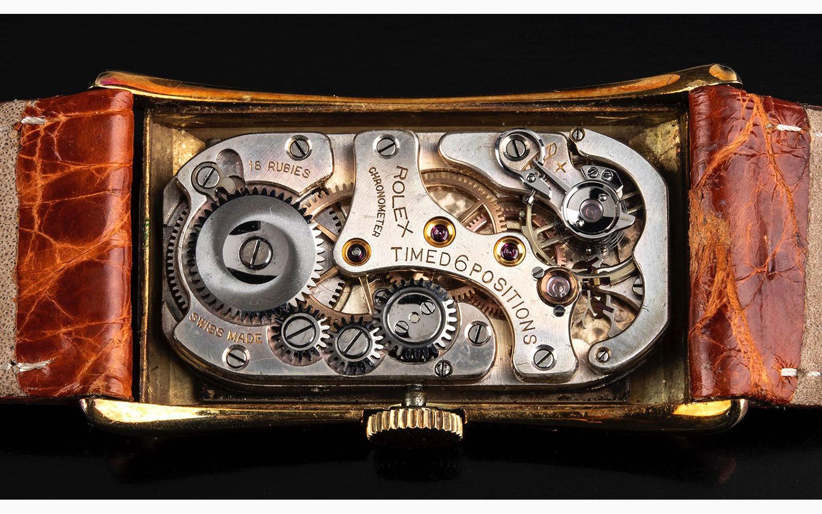 Rolex Prince ¼ Century club gold, 1947 - Image 2 of 4