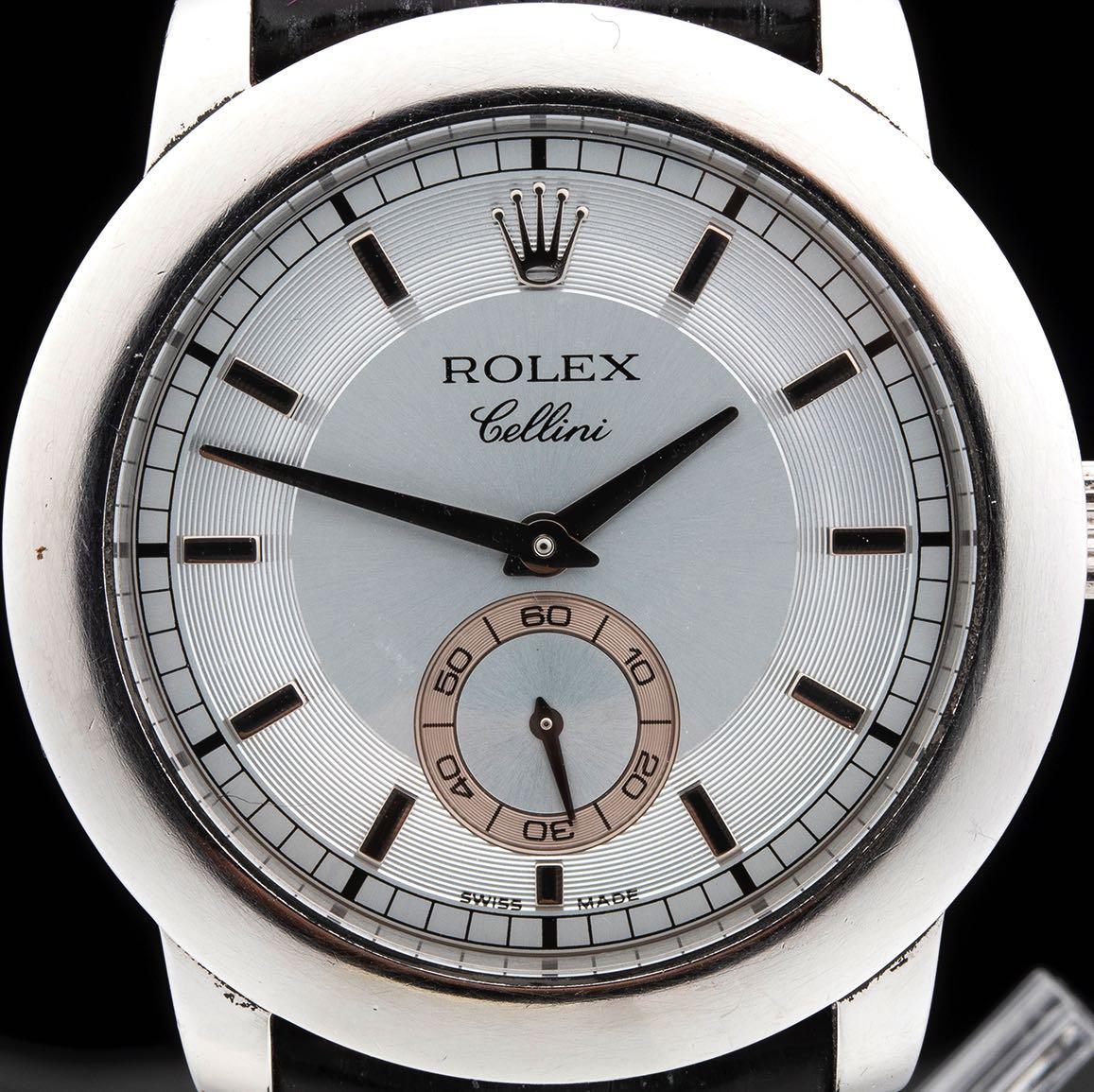 """ROLEX CELLINI, """"Cellinium"""" platinum ref. 5241/6, 2005, full set - Image 2 of 5"""