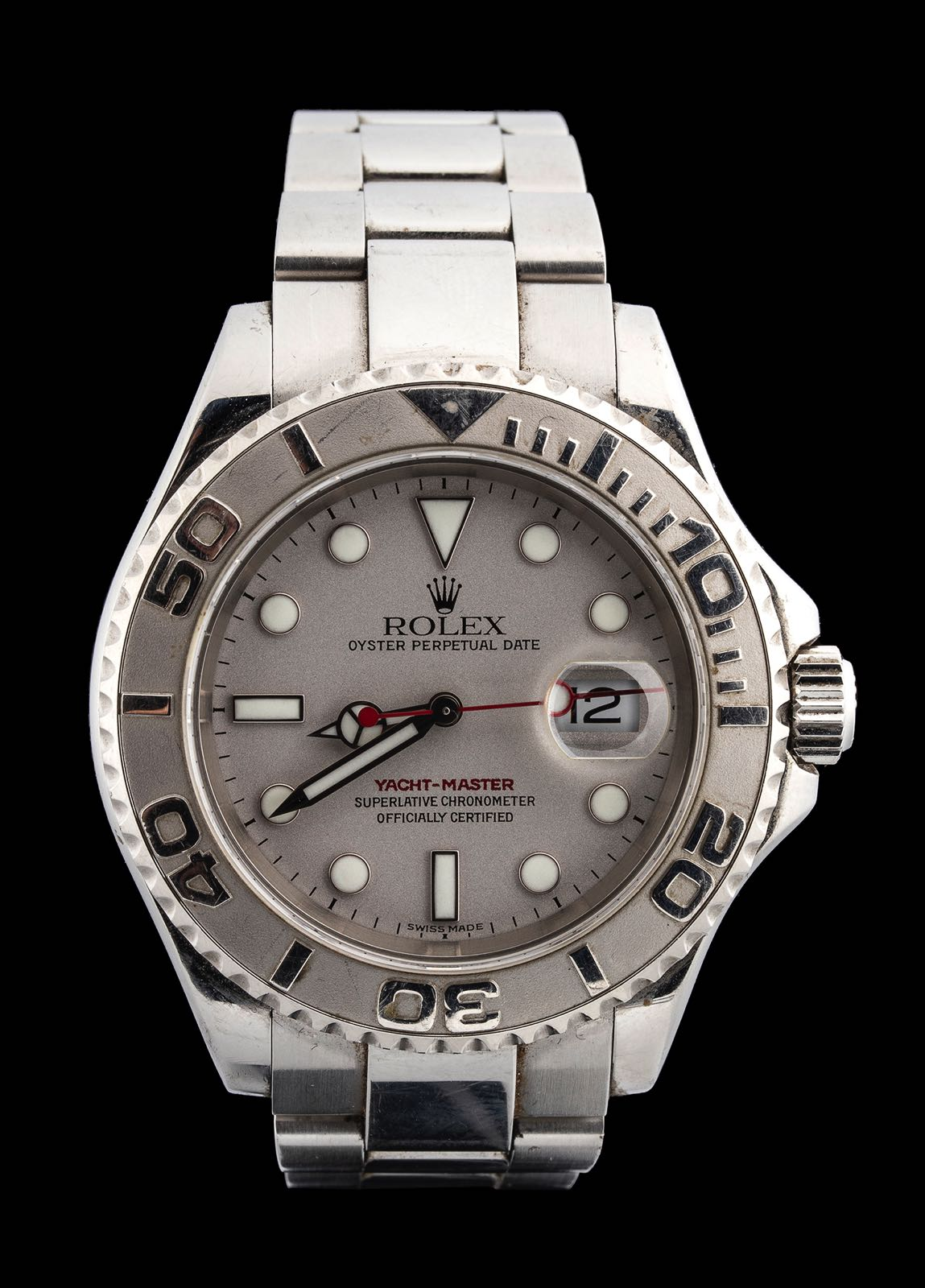 Rolex Yacht Master ref 16622. winner 2003 Rolex IMF Offshore World Championship Sardinia.