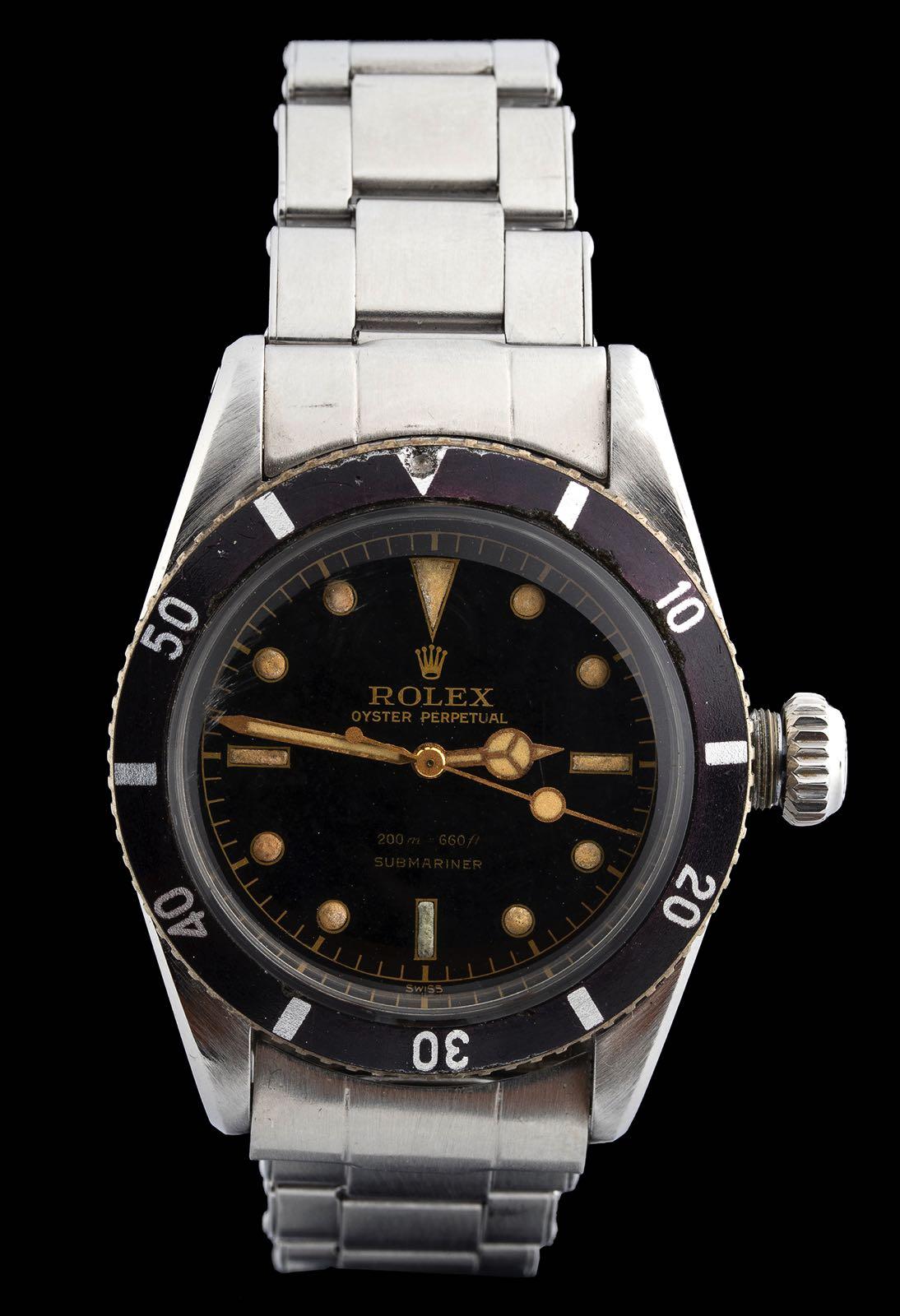 """Rolex Submariner ref 6538 """"Big Crown"""""""