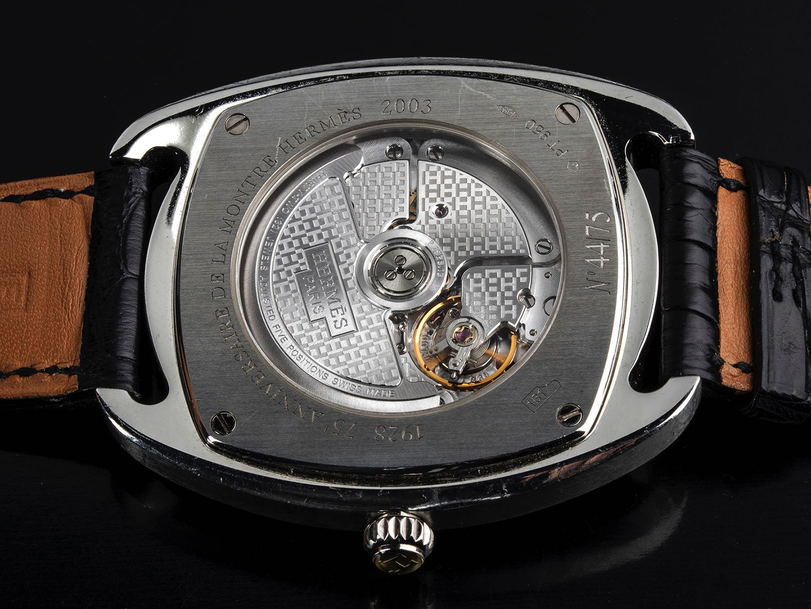 Hermes Dressage Platin, limited edition 75 pieces. 2003 - Image 2 of 3