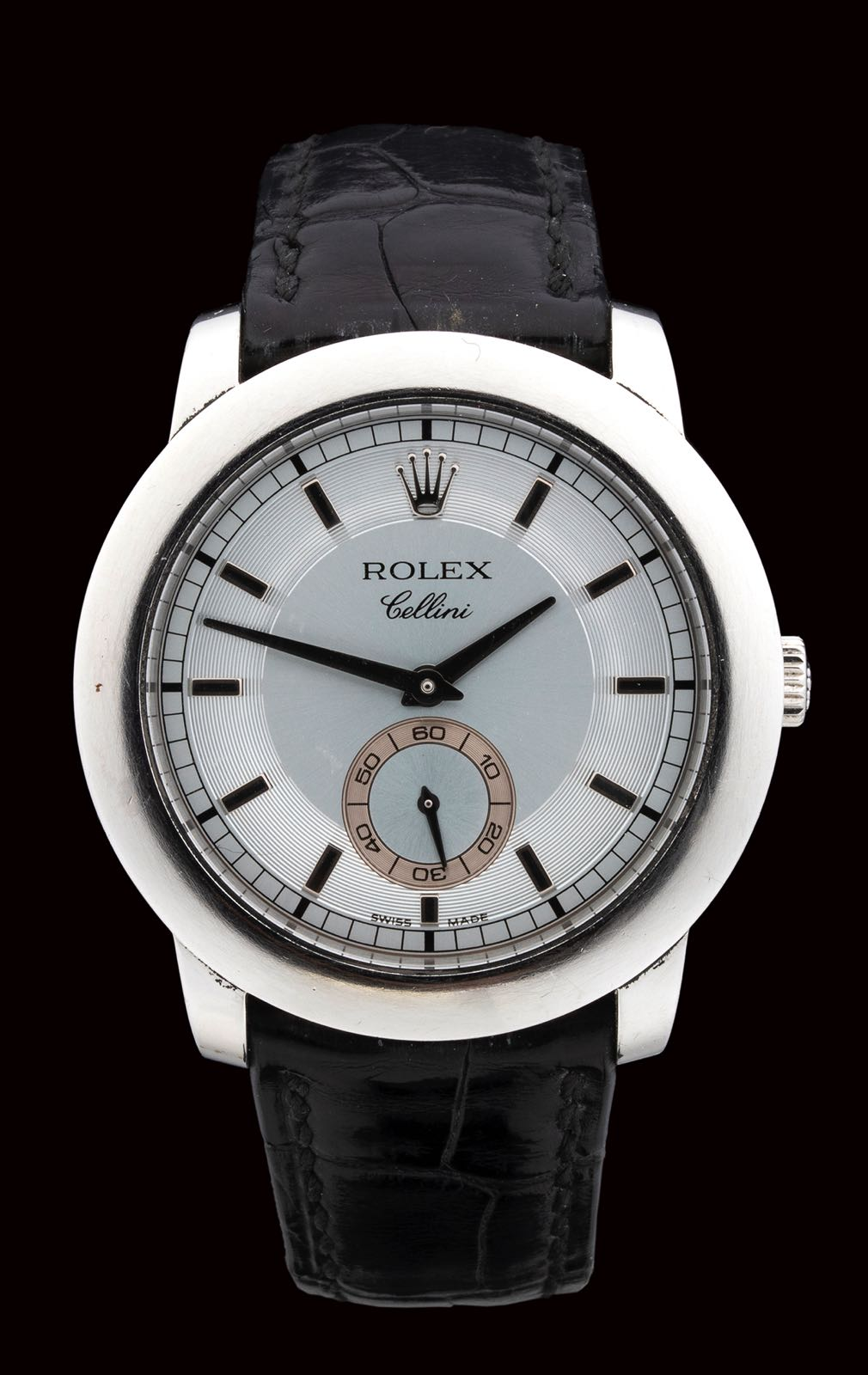 """ROLEX CELLINI, """"Cellinium"""" platinum ref. 5241/6, 2005, full set"""
