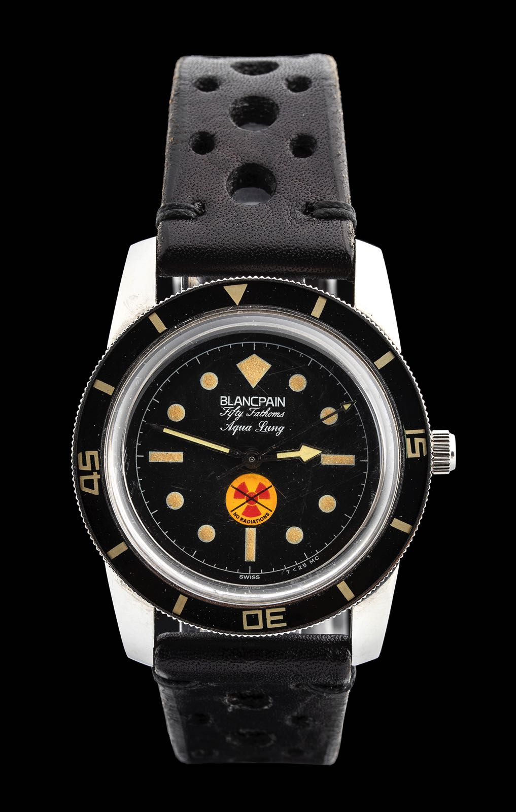 Blancpain Fifty Phatoms Aqua lung no radiations dial