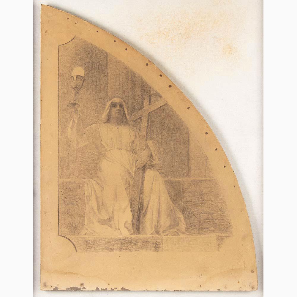 PIETRO VANNI Viterbo, 1845 - Rome, 1905-Six sacred scenes - Image 2 of 7