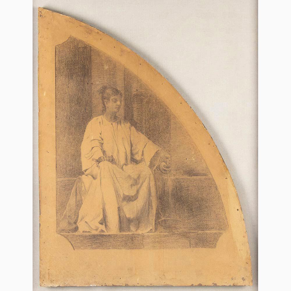 PIETRO VANNI Viterbo, 1845 - Rome, 1905-Six sacred scenes - Image 6 of 7
