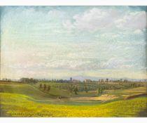 EDOARDO GIOJA Rome, 1862 - London, 1937-Country landscape