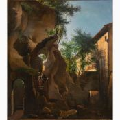 AUGUSTO CORELLI Rome, 1853 - 1918-Arsoli, 1901