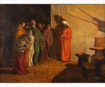 DOMENICO MORELLI Naples, 1823 - 1901-Mocked Christ, 1872-1875