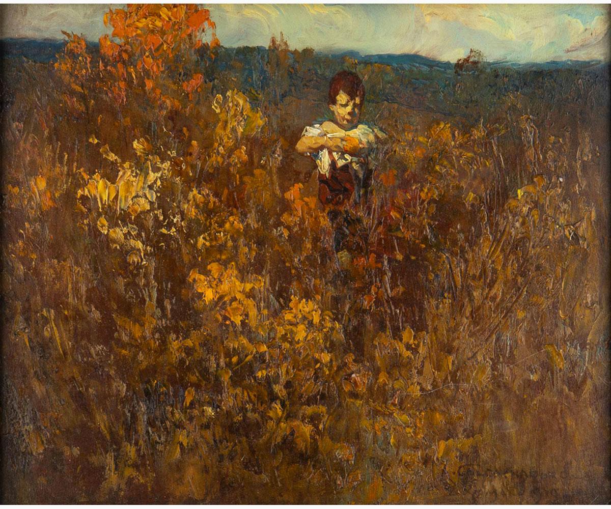 ANTONINO CALCAGNADORO Rieti, 1876 - Rome, 1935-Farmer, 1919