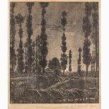 GIOVANNI GUERRINI Imola, 1887 - Rome, 1972-Serenity, 1919