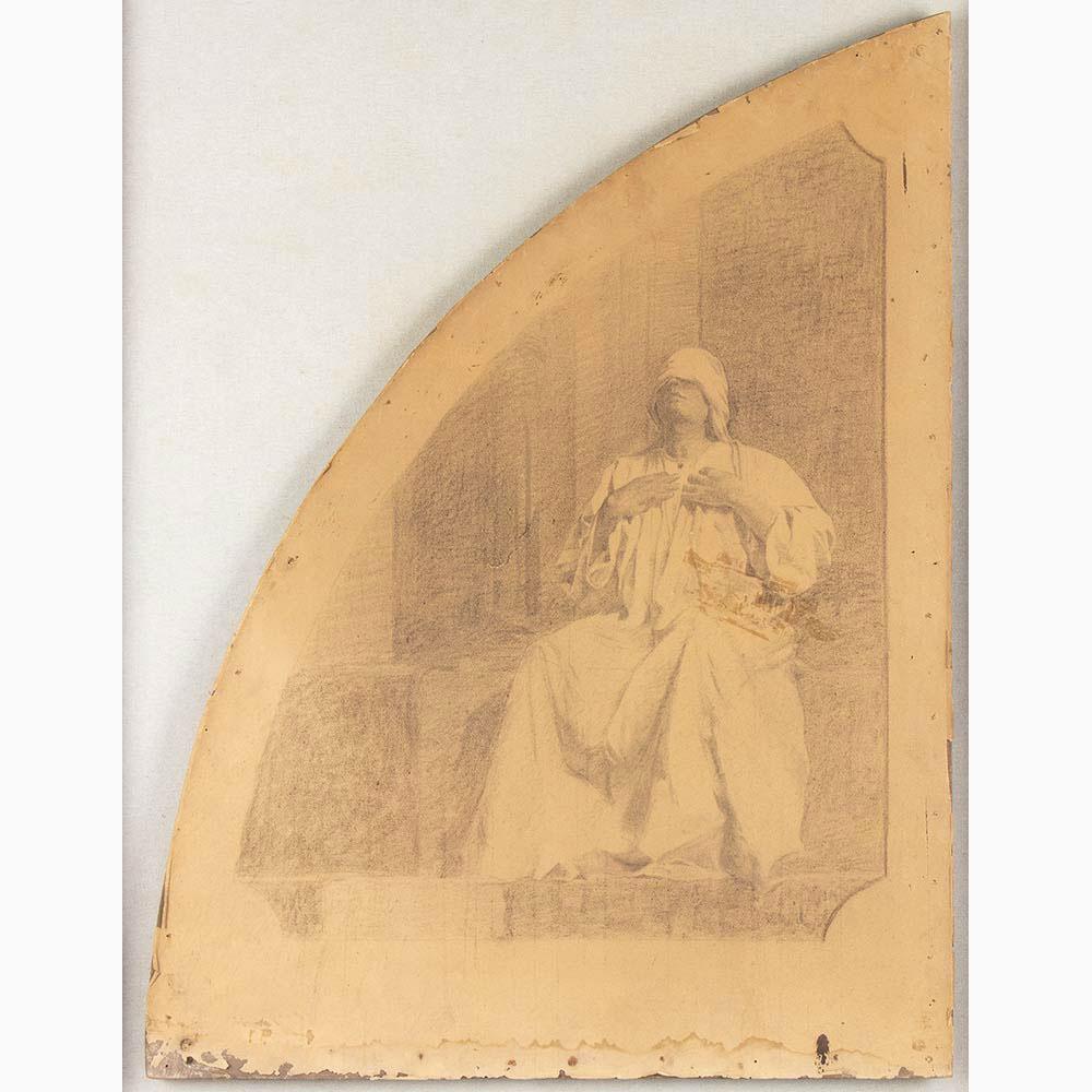 PIETRO VANNI Viterbo, 1845 - Rome, 1905-Six sacred scenes - Image 5 of 7
